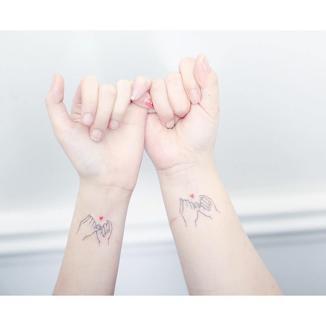 wrists tattoos piky swear