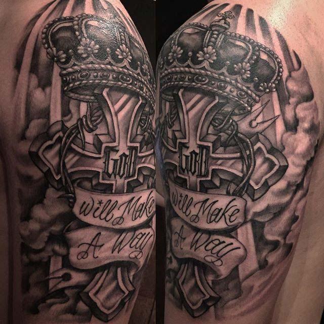 Tattoo design religious