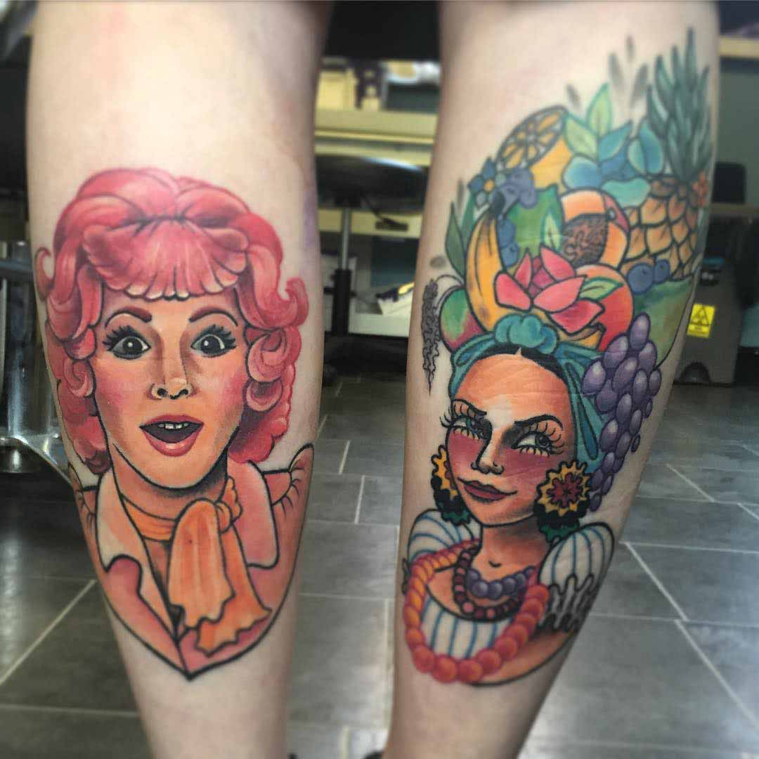 Cool Calf Tattoos by hollietoldmeto