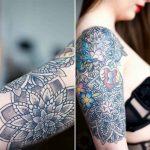 Half Sleeve Tattoo Girl