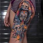 Kali Goddess Tattoo