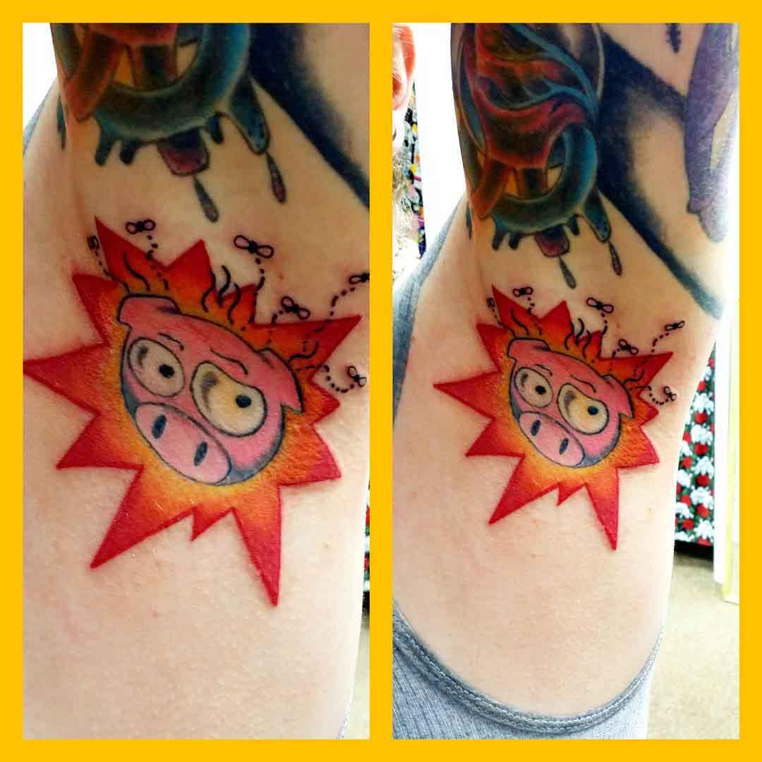 Biggy Bomb Tattoo by tenthirtyonetattoo