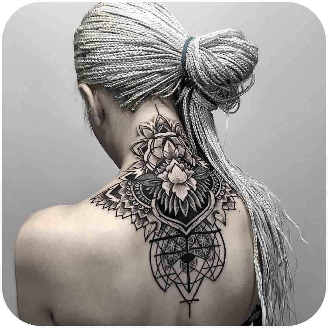 Nape Tattoo by otheser_stc