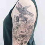 Shoulder Tattoo Women