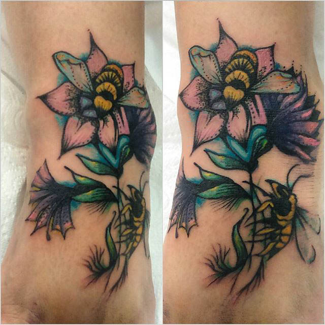 Tattoo Thistle by AilsaTG+