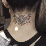 Tattoo on Nape of Neck