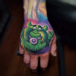 Candy Land Tattoo on Hand