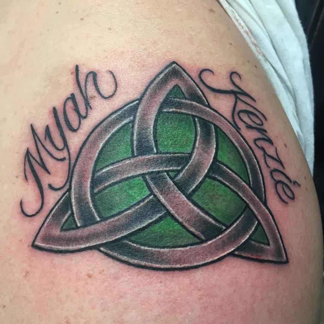 Celtic Knot Trinity Tattoo by tattoosbyscottybing