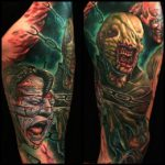 Healed Chatterer and Dr tattoo