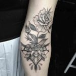 Inner Elbow Tattoo Designs