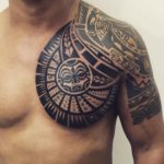 Maori Chest Tattoo Designs