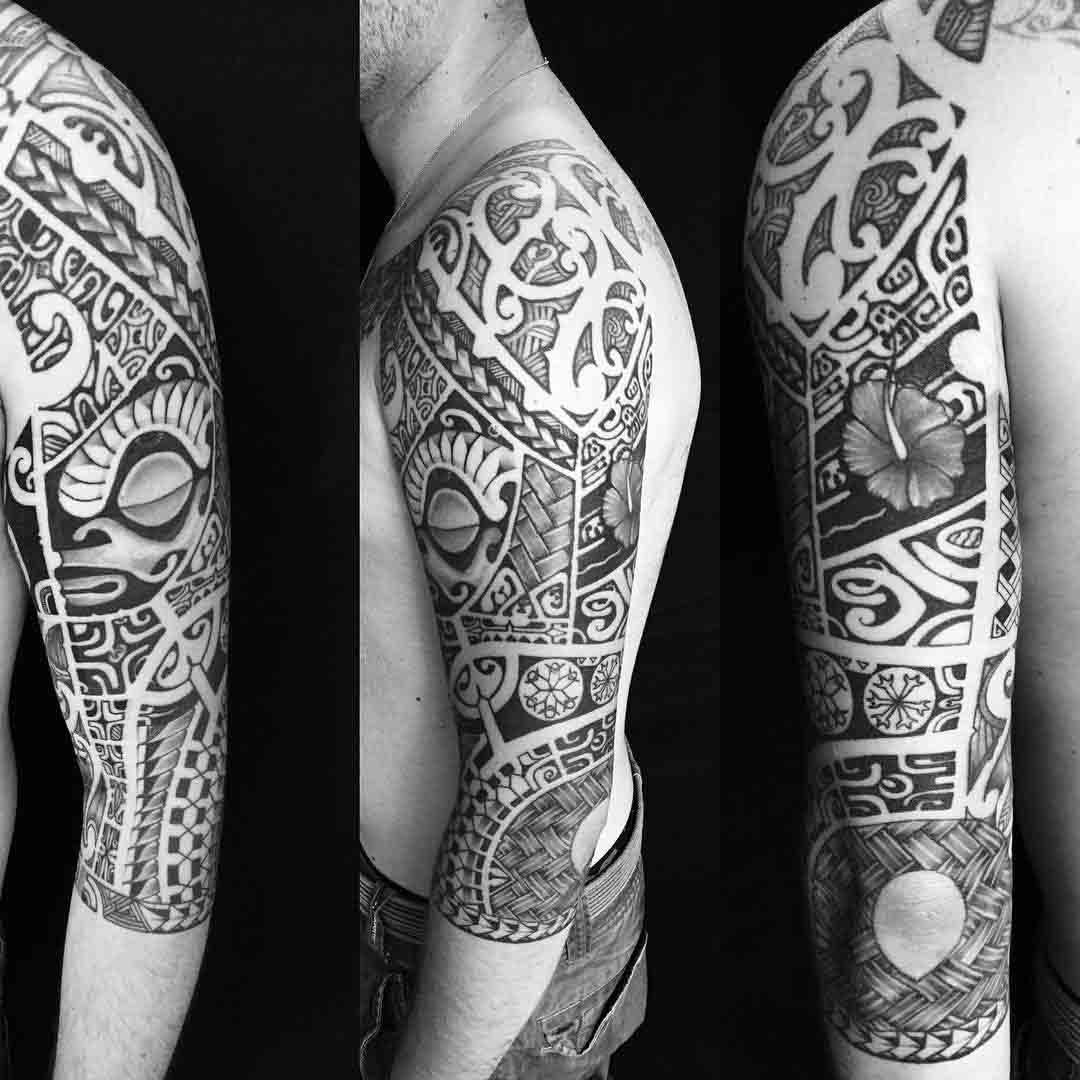 Maori Tattoo Sleeves by Manamaoritatau 5