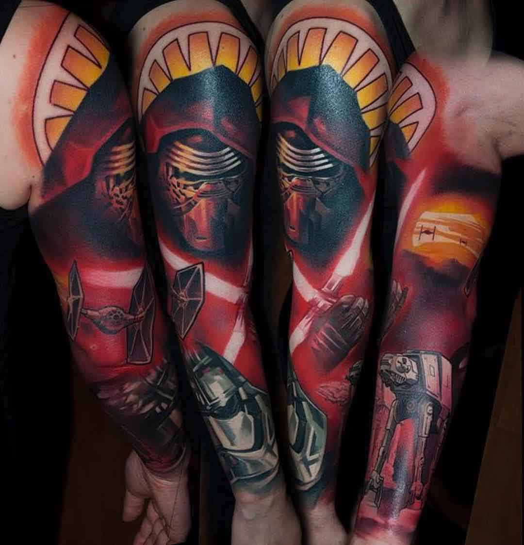 sleeve tattoo design new movie
