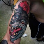 Tattoo of Wolf