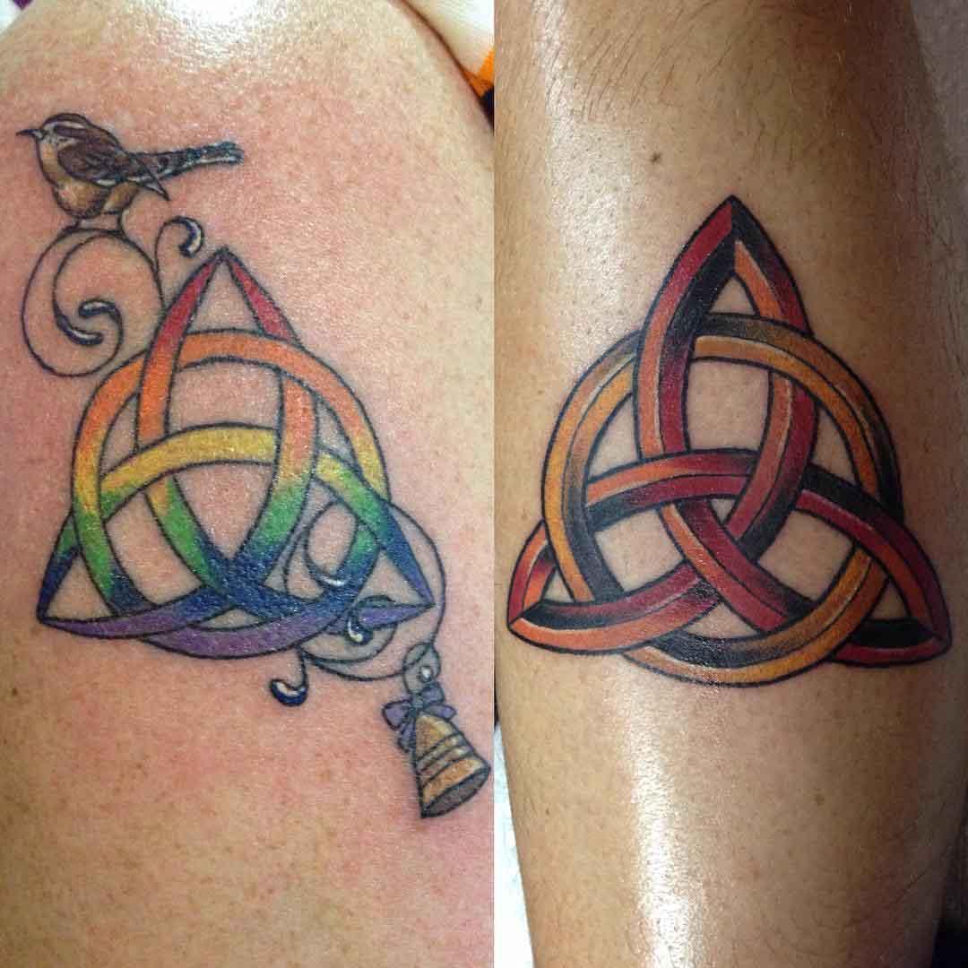 Triquerta Tattoo Designs by kayleathetattooedlady