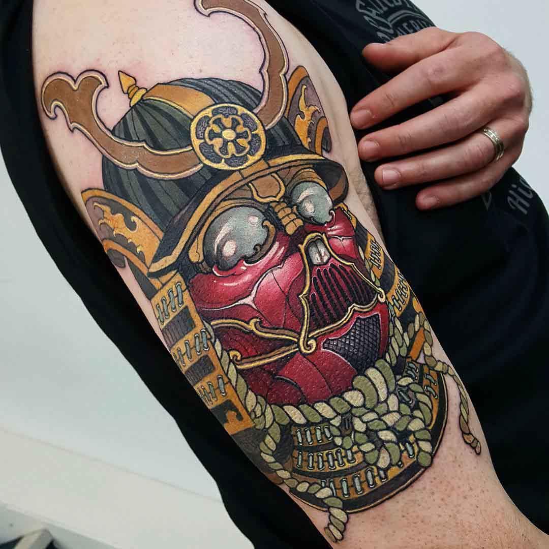 smurai tattoo darth vader
