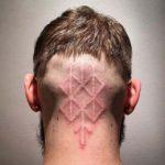 White Nape Tattoo
