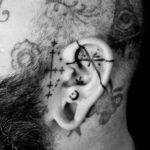Ear Tattoo Designs