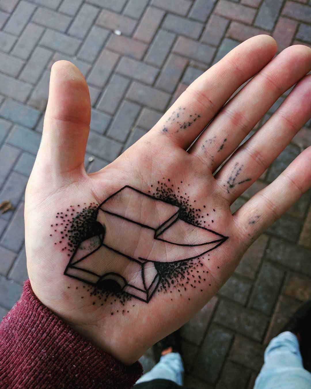 palm tattoo anvil