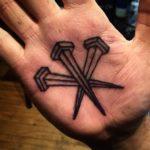Palm Nails Tattoo