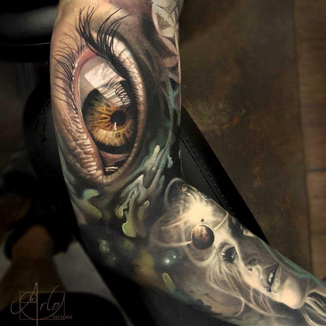 amazing tattoo sleeve quantum