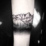 Rocky Mountains Tattoo