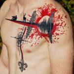 Tash Polka Emblem Tattoo