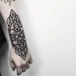 Hand Bold Mandala