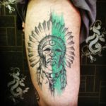 Indian Tattoo Sketch