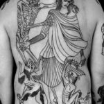 Dance of Death Tattoo on Full Back