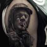 Men's Shoulder Tattoo