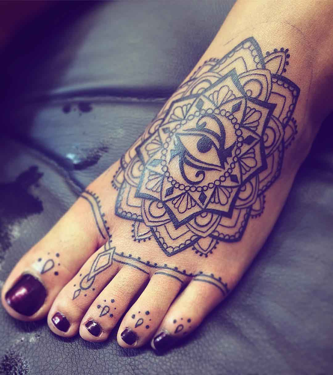 Foot and Toe Tattoos by Elyssa Dion