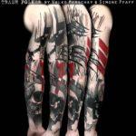 Polka Trash Tattoo