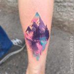 Beautiful Mountain Tattoo