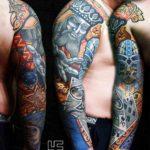Cards Tattoo Sleeve
