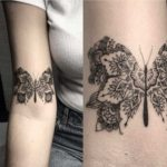 Butterfly Mandala Tattoo