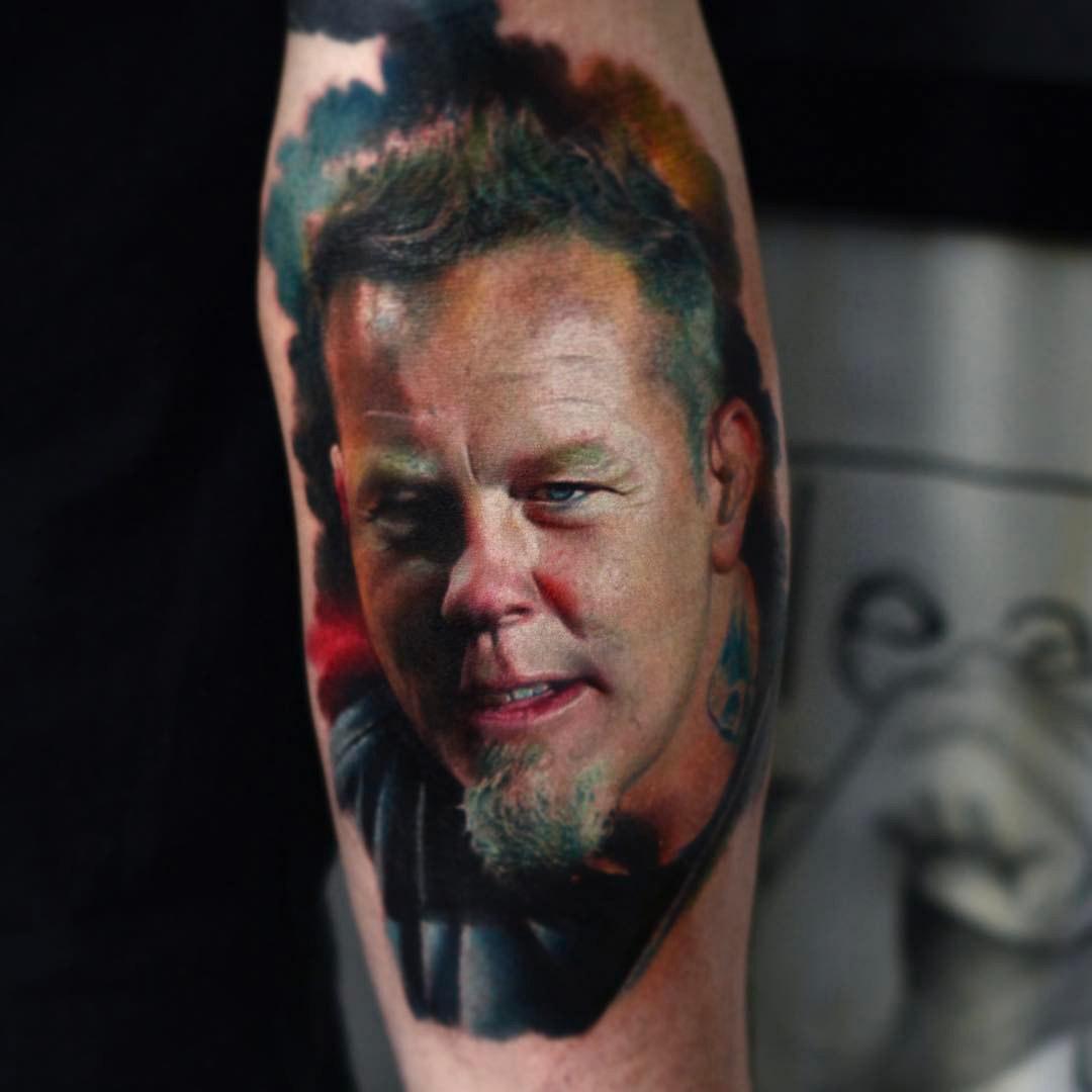 James Heatfield Tattoo portrait