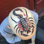 Scorpion Head Tattoo