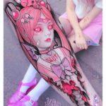 Sailor Chibislutmoon Tattoo on Arm