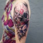 Colorful Skull Tattoo Designs