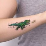 Cute T-Rex Tattoo