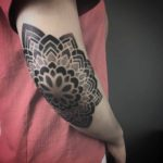 Elbow Tattoo Mandala
