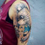 Shoulder Cute Tattoo