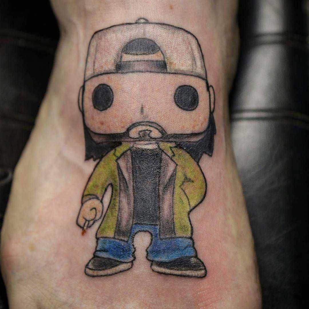 cool silent bob tattoo