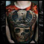 Tattoo Skull Man