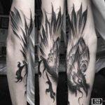 Raven Tattoo Design
