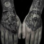 Animal Hand Tattoos