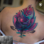 Back Cover Up Tattoo Rose