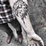 Eagle Forearm Tattoo