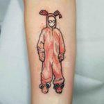 Pink Nightmare Tattoo